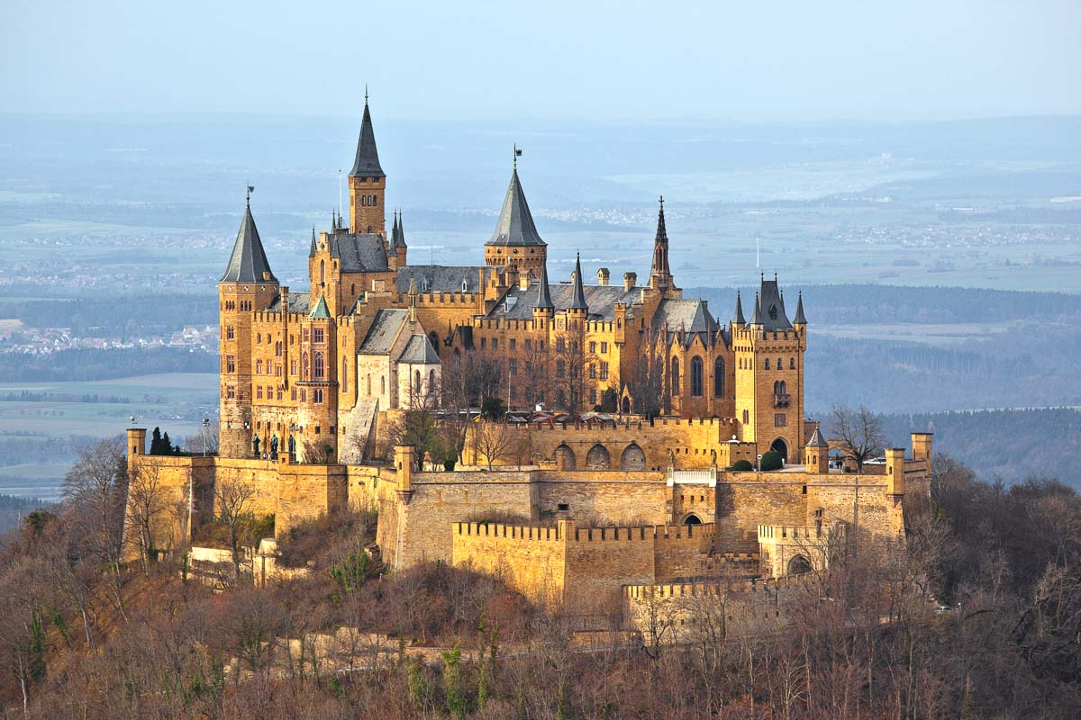 Hohenzollern Castle Germany exterior
