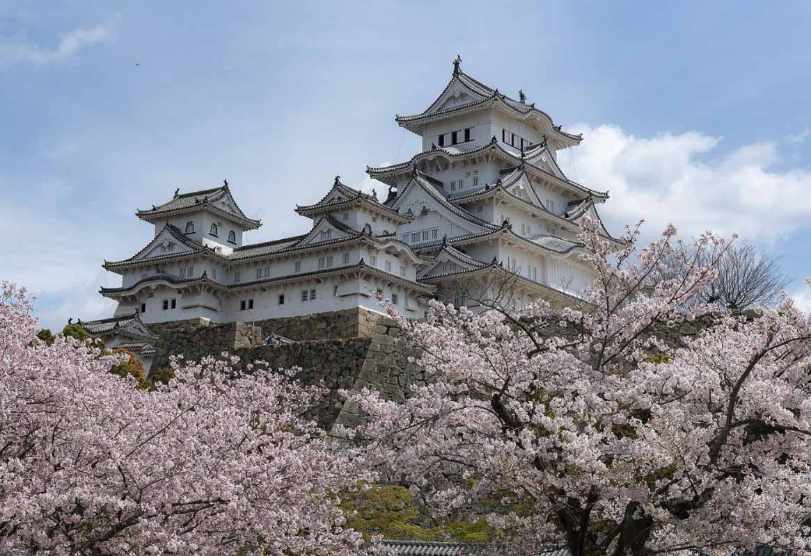 Japan Himeji-castle