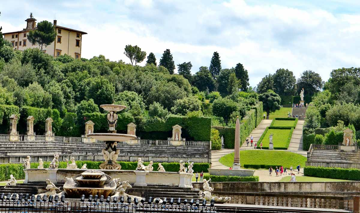 Pitti Palace Florence Italy