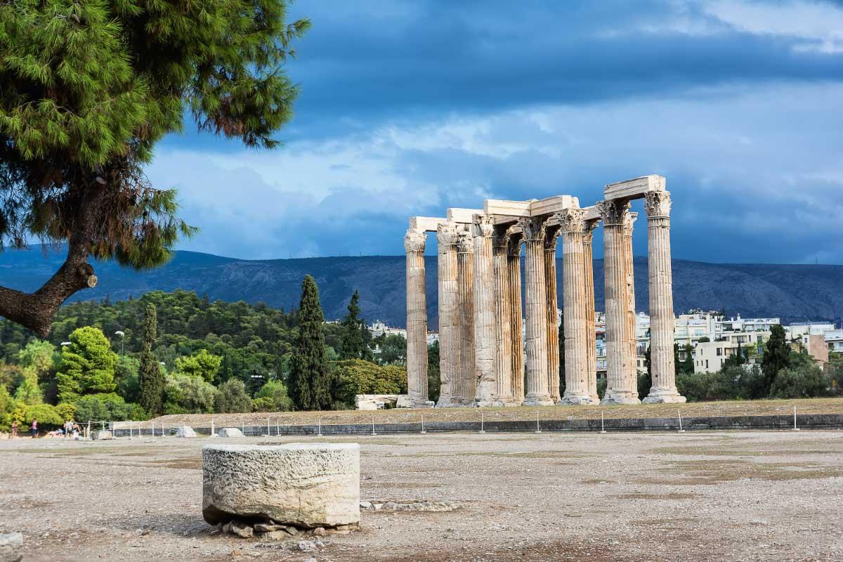 Temple of Olympian Zeus Greece