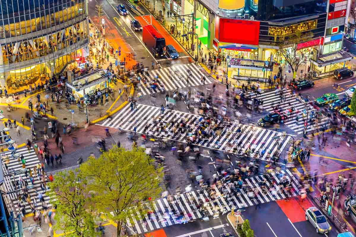 Tokyo Japan Shibuya Crossing 1