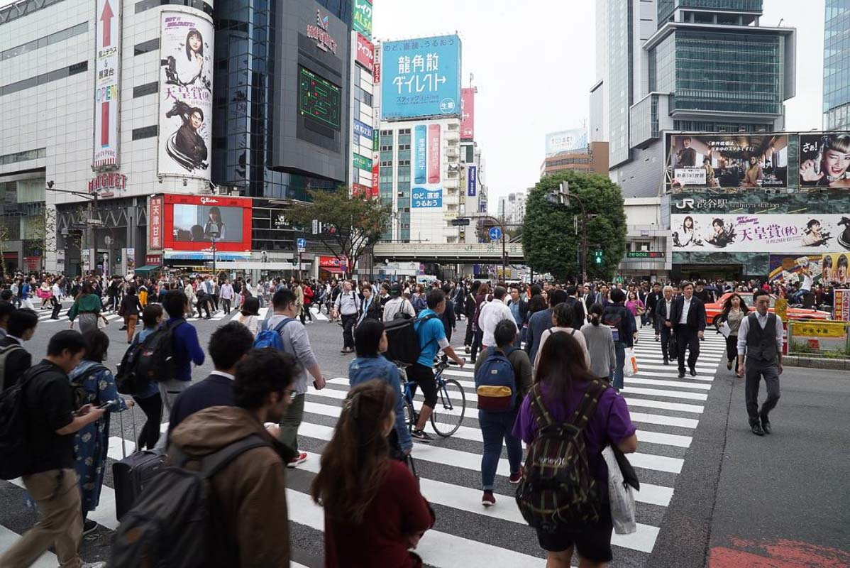 Tokyo Japan shibuya-crossing