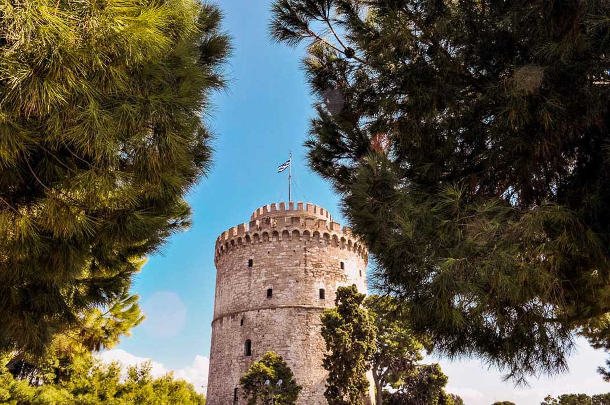 White Tower of Thessaloniki Greece