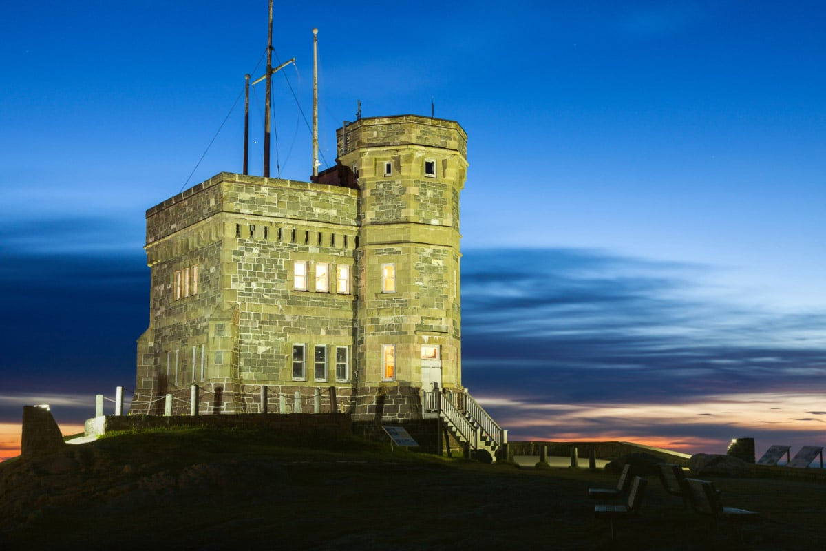 cabot tower canada