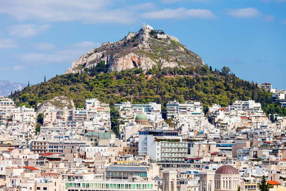 mount lycabettus greece
