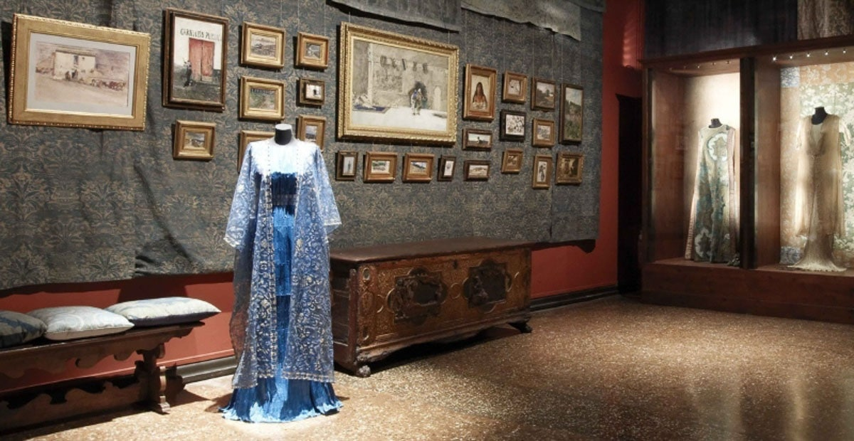 Museo Fortuny room of clothing