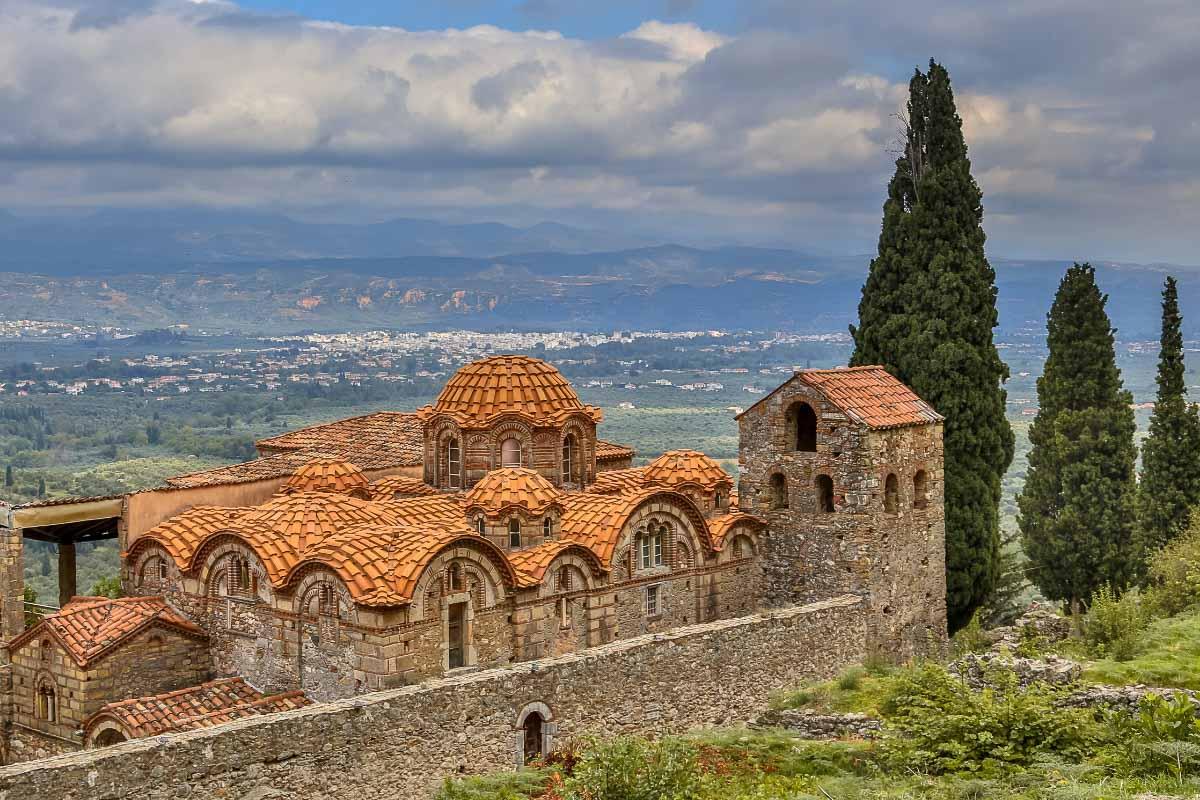 mystras monastery greece