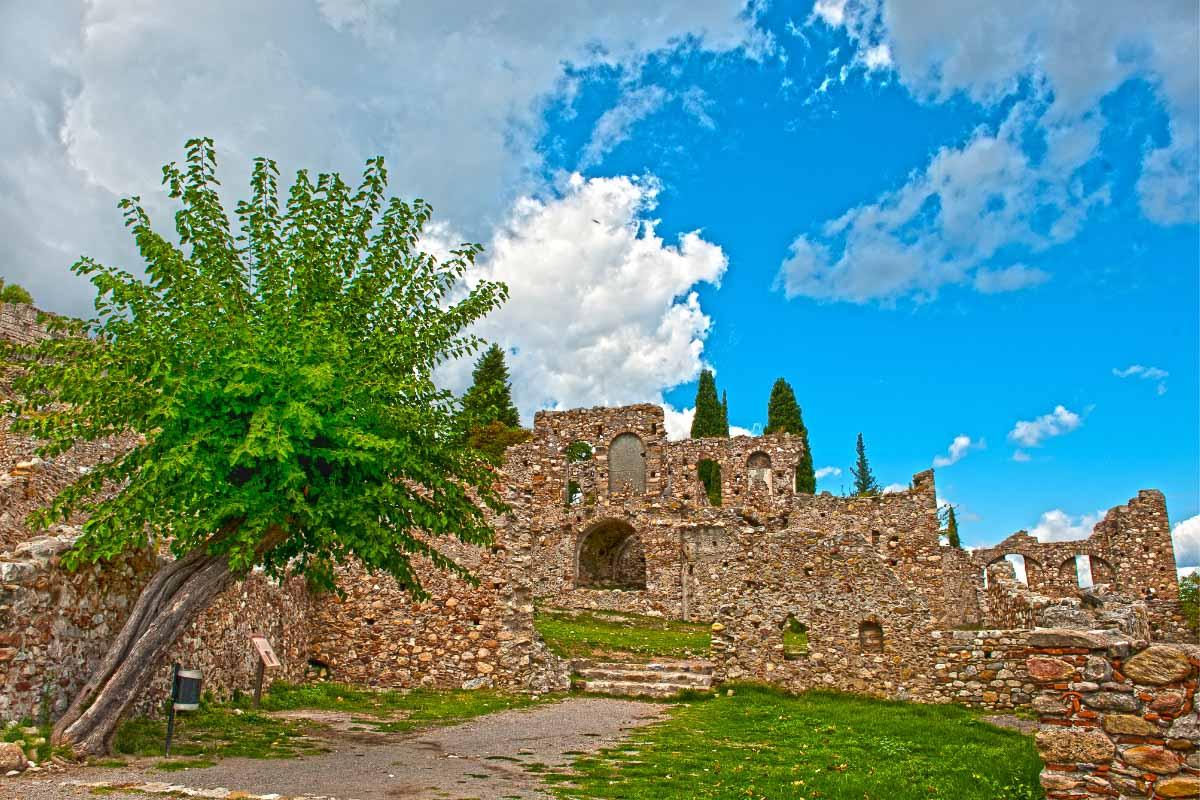 mystras ruins Greece