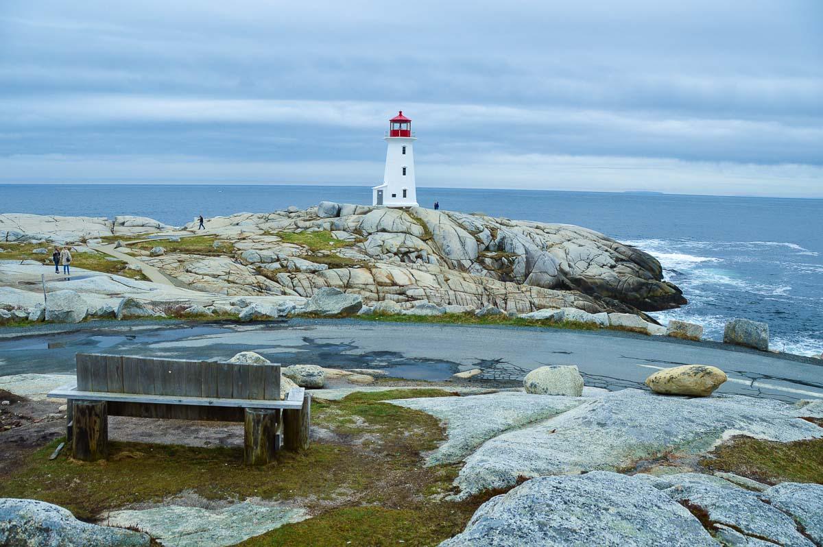 peggys point lighthouse nova scotia canada