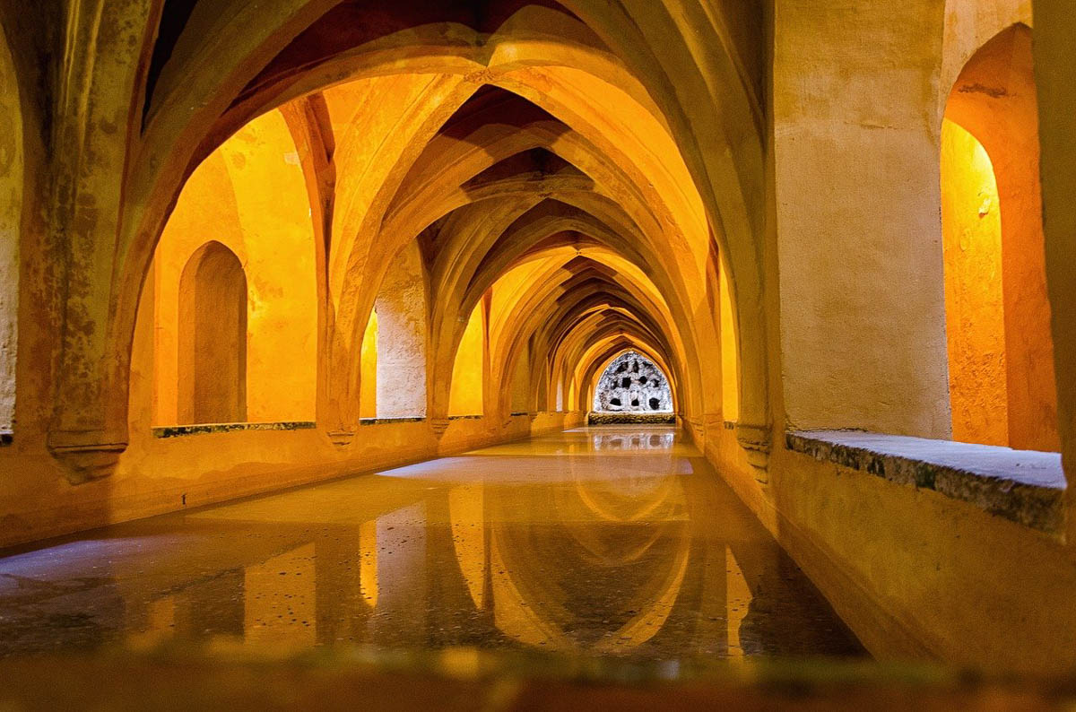 royal alcazar of seville one of the spain famous landmarks