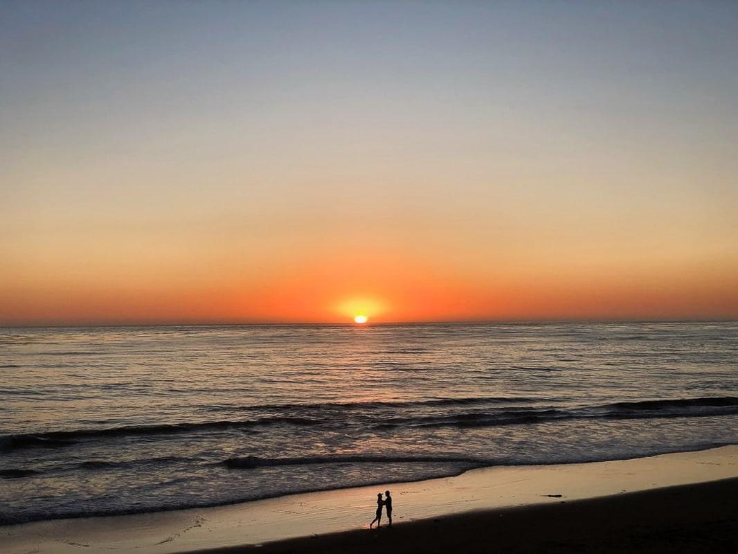 Beach_Sunset_California