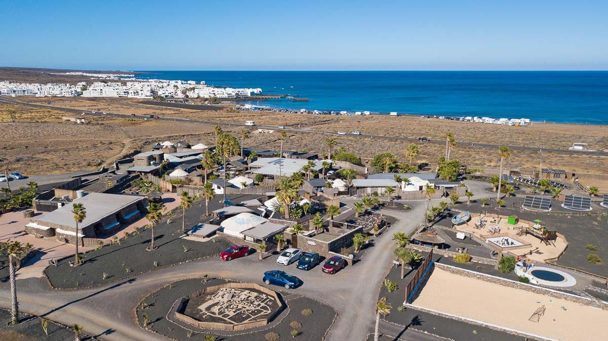 LR Finca de Arrieta aerial view the best place to stay in lanzarote