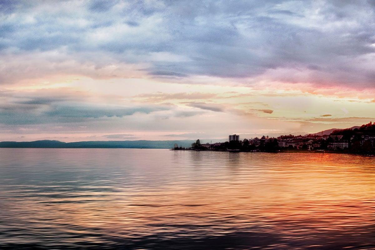 Lake Geneva france