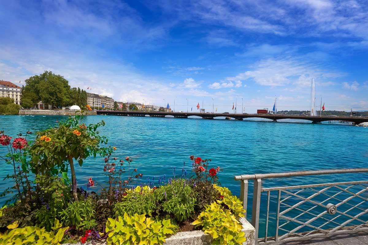 Lake Geneva lake in france