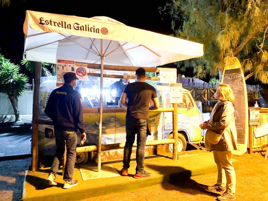 Lanzarote Arrieta VW mojito bar