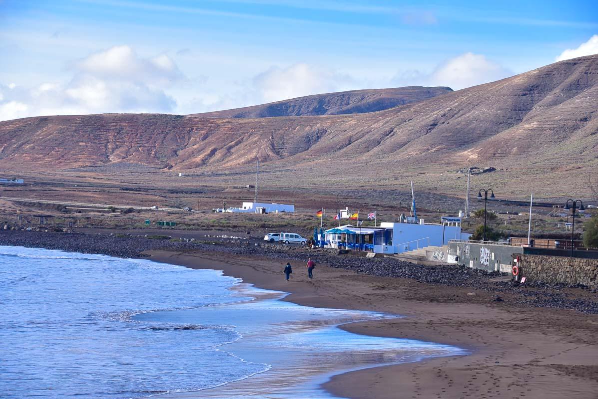 Lanzarote Arrieta beach