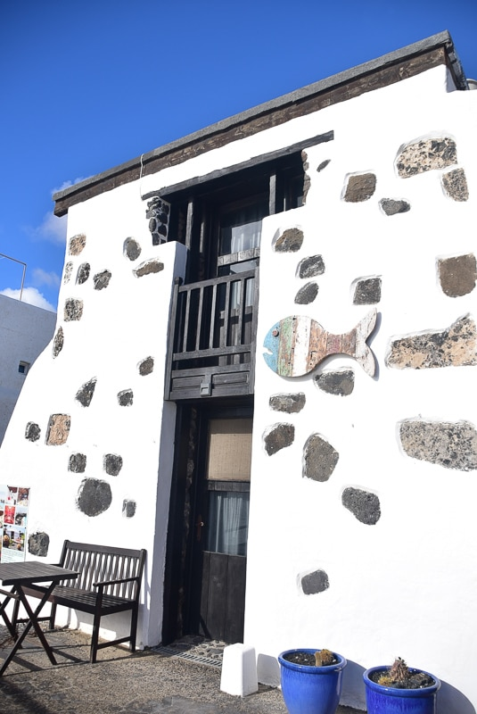 Lanzarote Arrieta fisherman's cottage 2