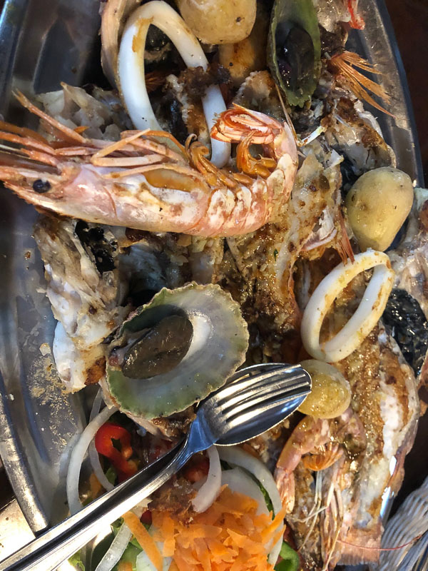 Lanzarote Casa Playa Seafood Platter