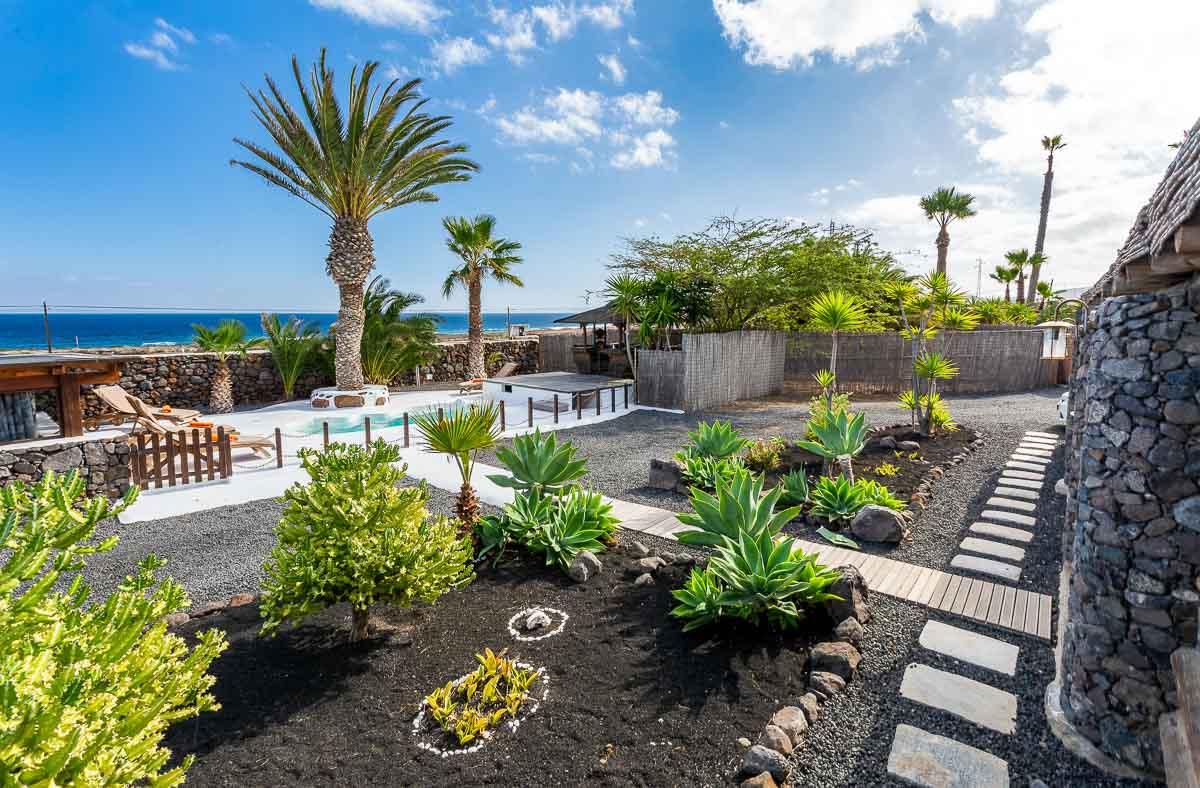 Lanzarote Eco Finca de Arrieta cactus garden