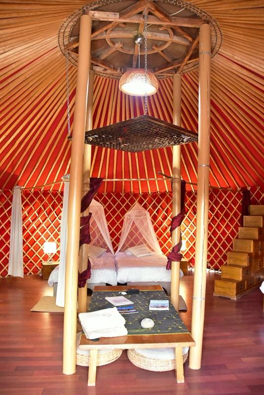Lanzarote Eco Finca de Arrieta luxury yurt single beds