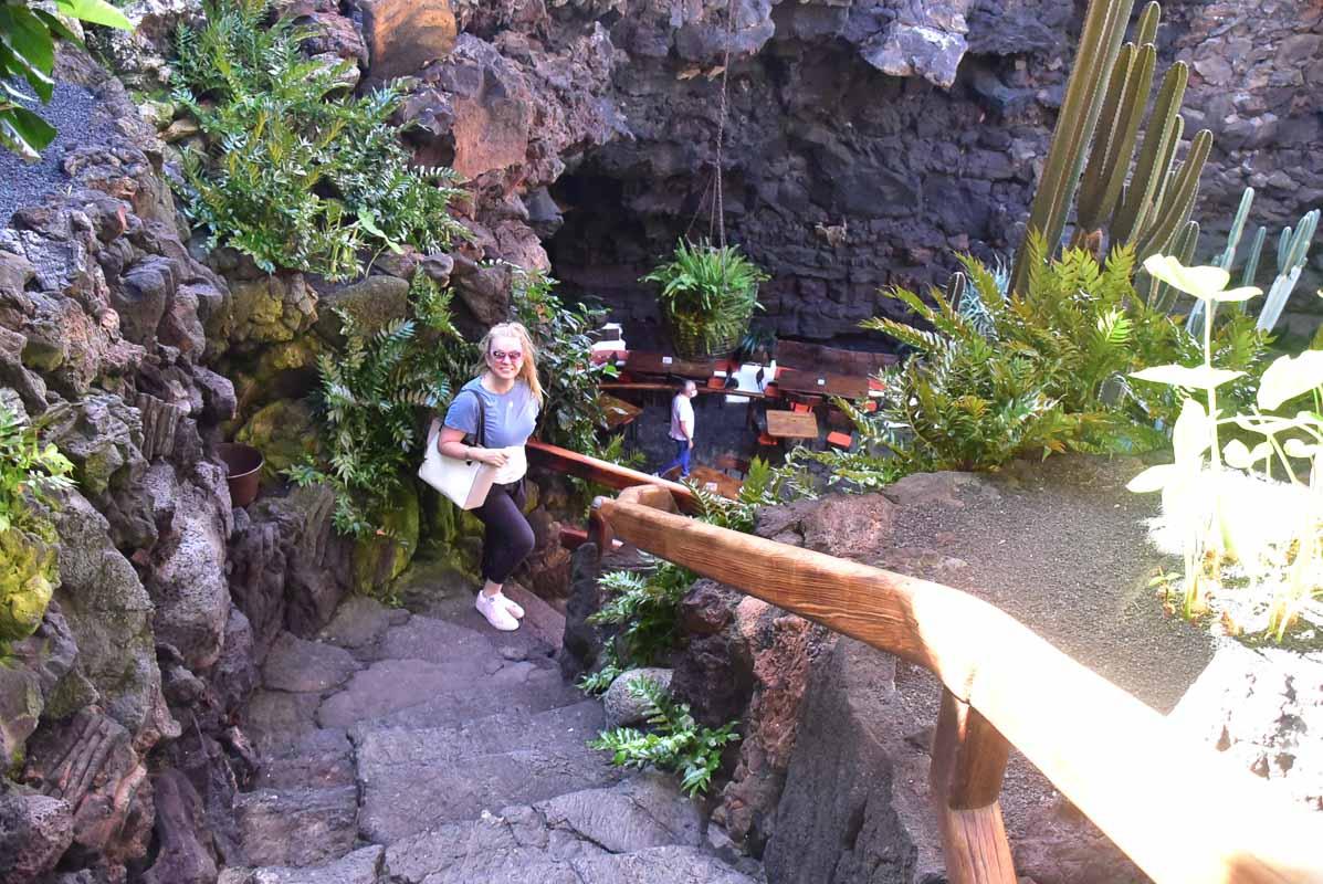 Lanzarote Jameos del Agua entry