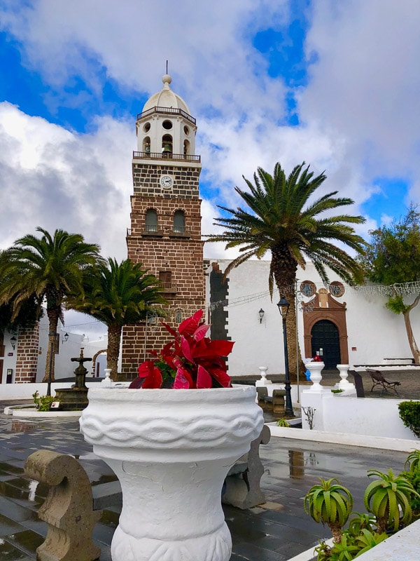 Lanzarote Teguise main square