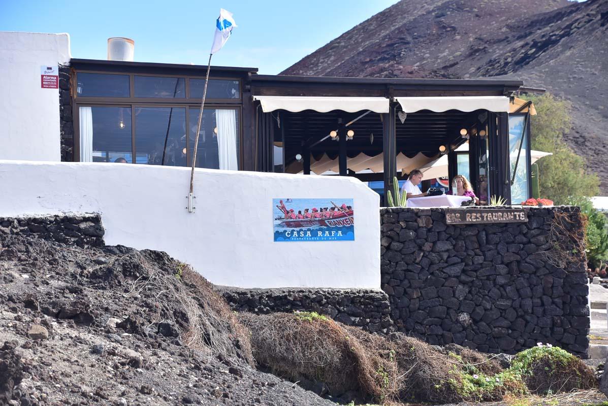 Lanzarote el golfo restaurant
