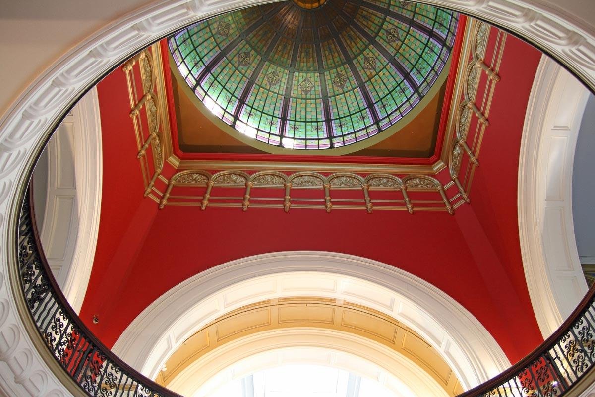 Queen Victoria Building Sydney ceiling
