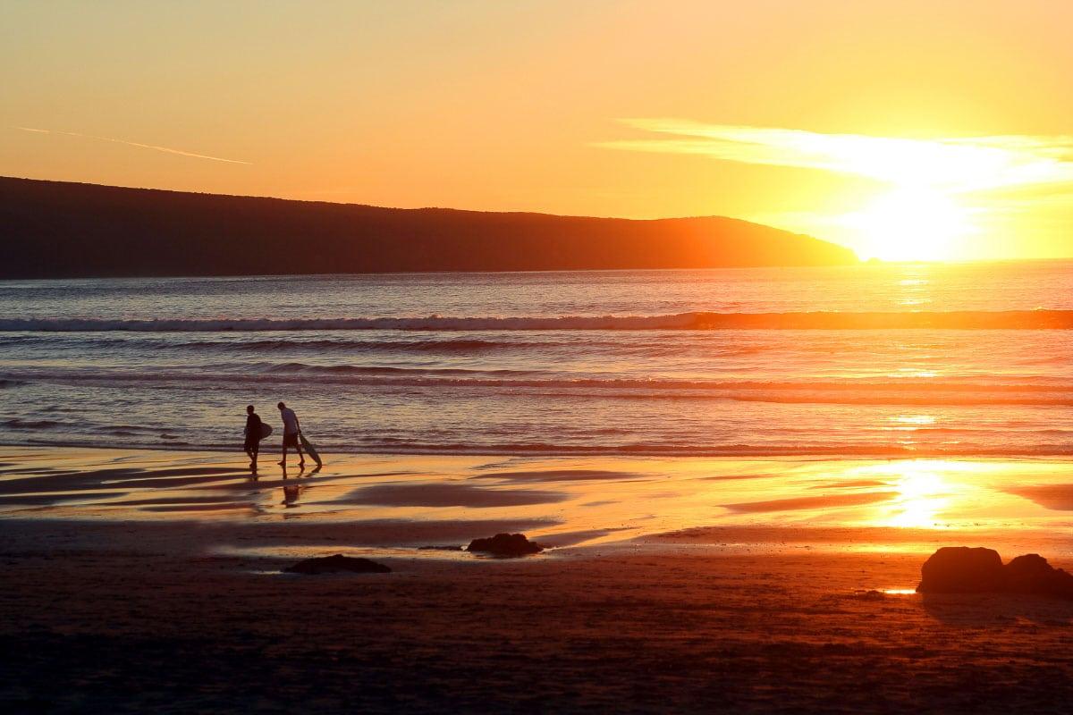 dillon beach sunsets in california