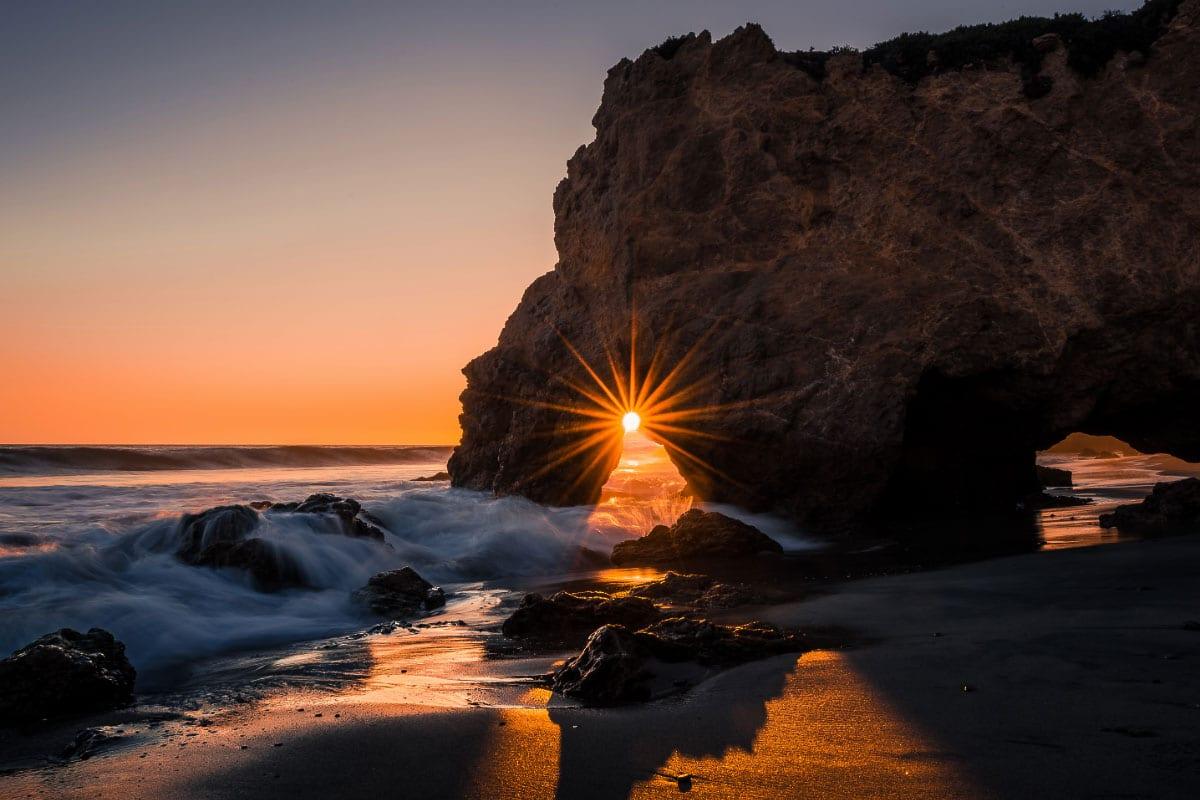 el matador beach sunset california