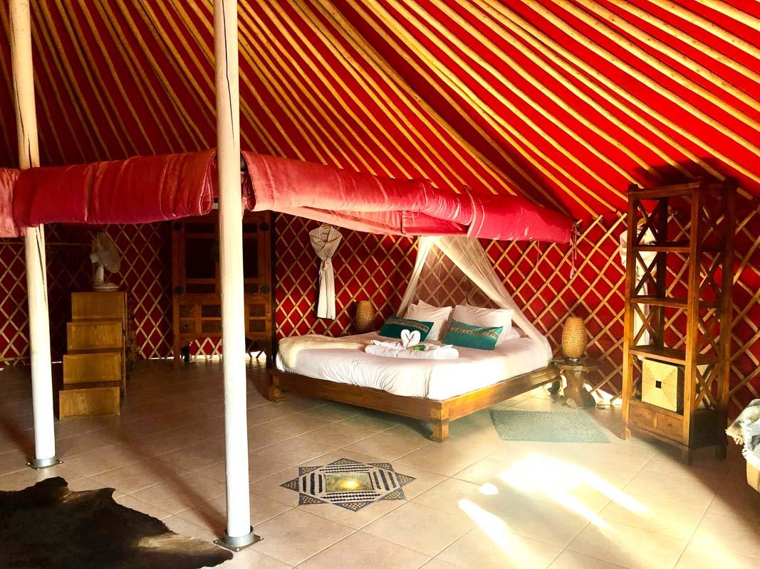 lanzarote eco finca de arrieta largest yurt