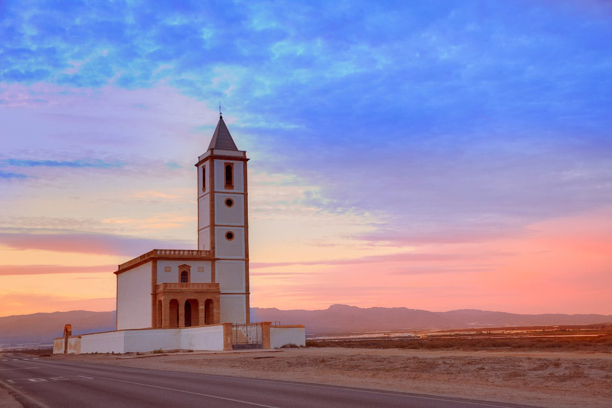 lighthouse at las salinas ibiza