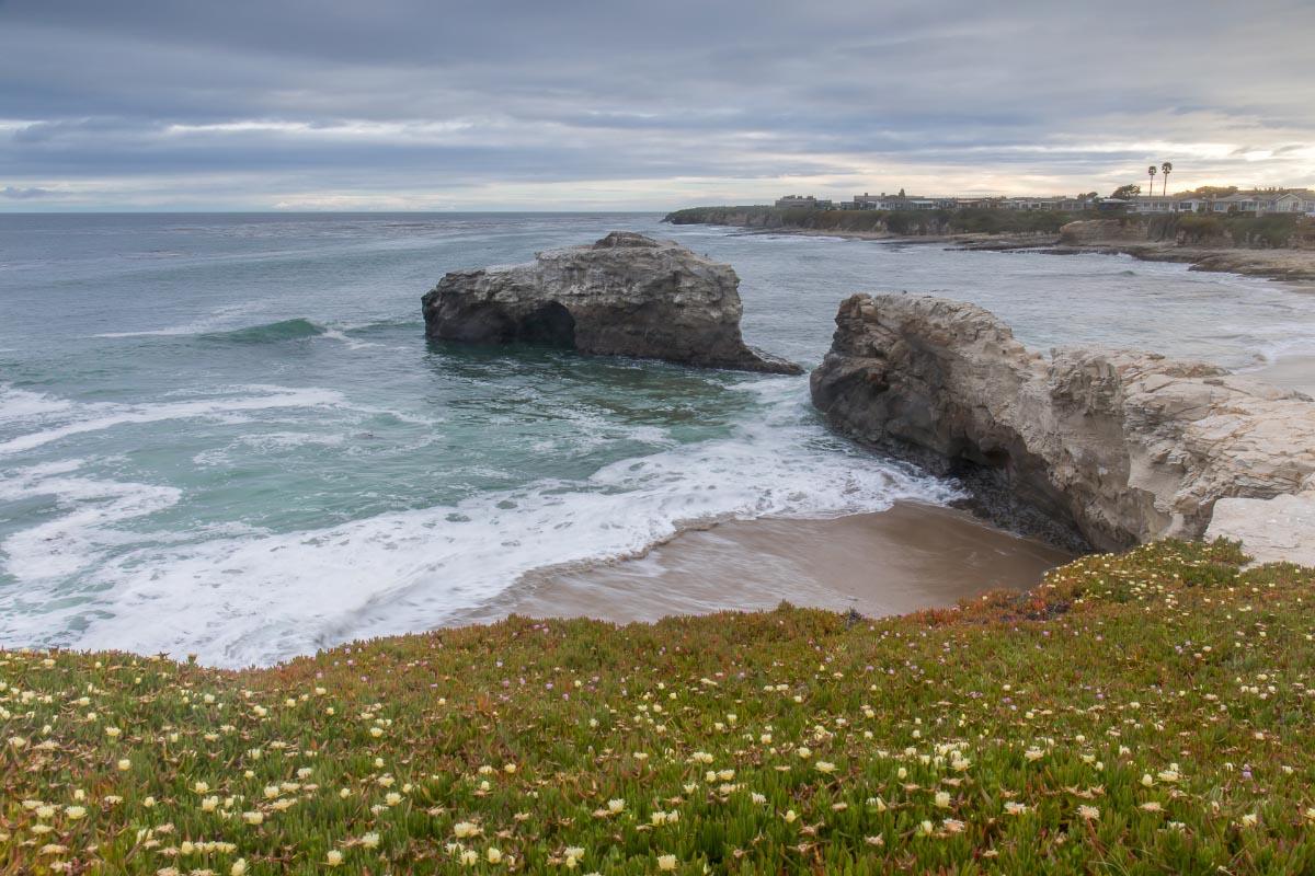 natural bridges beach