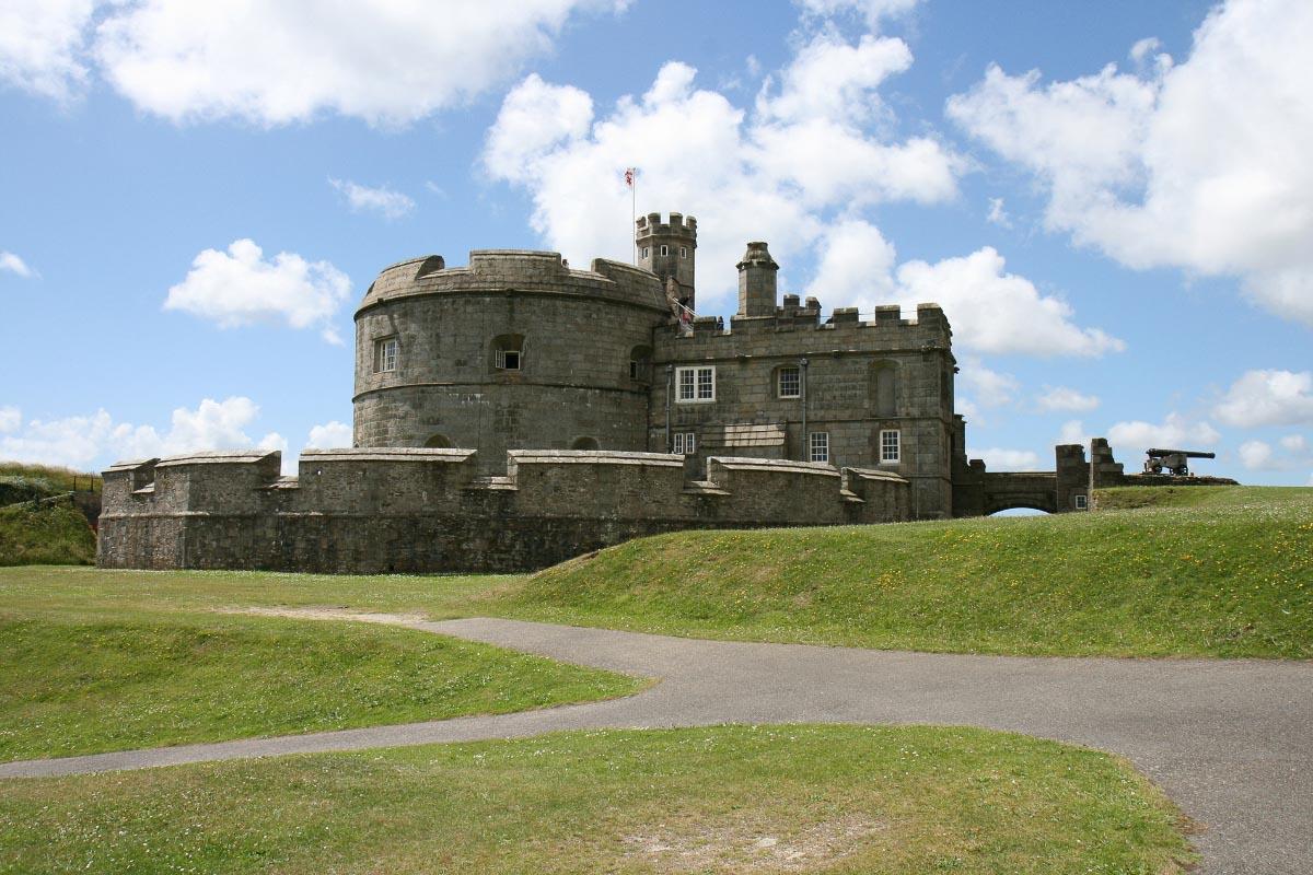 pendennis castle cornwall