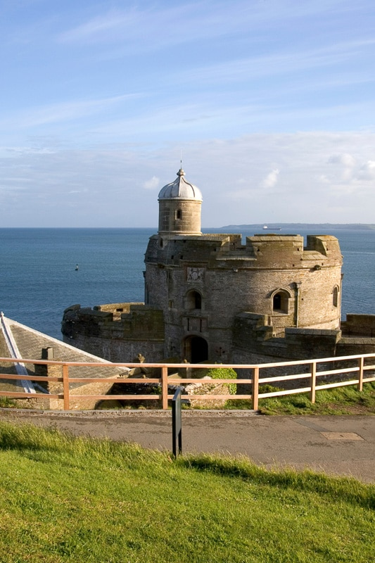 st mawes castle cornwall
