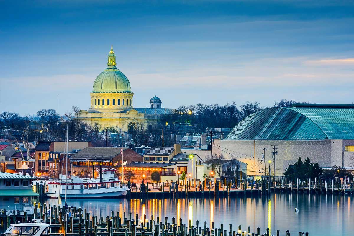 Annapolis Maryland Naval Academy