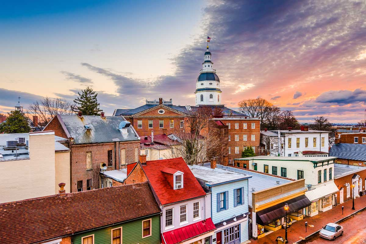 Annapolis Maryland downtown
