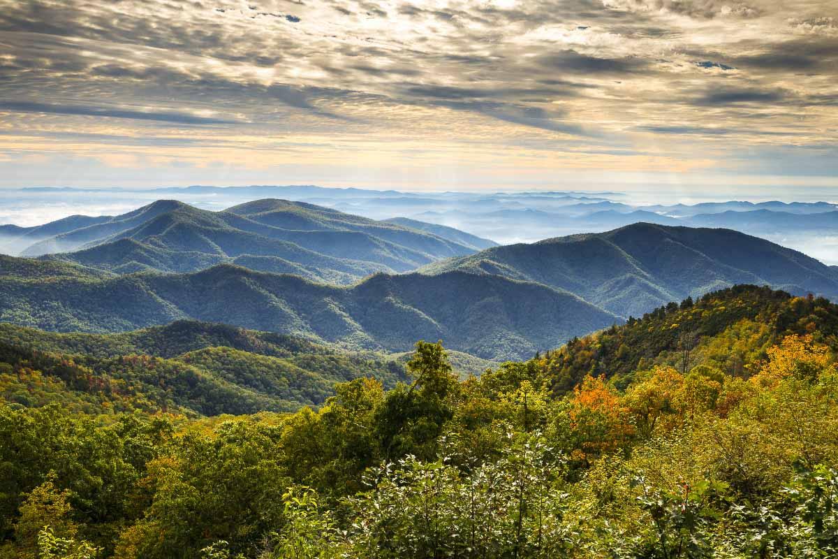 Asheville Blue Ridge Mountains