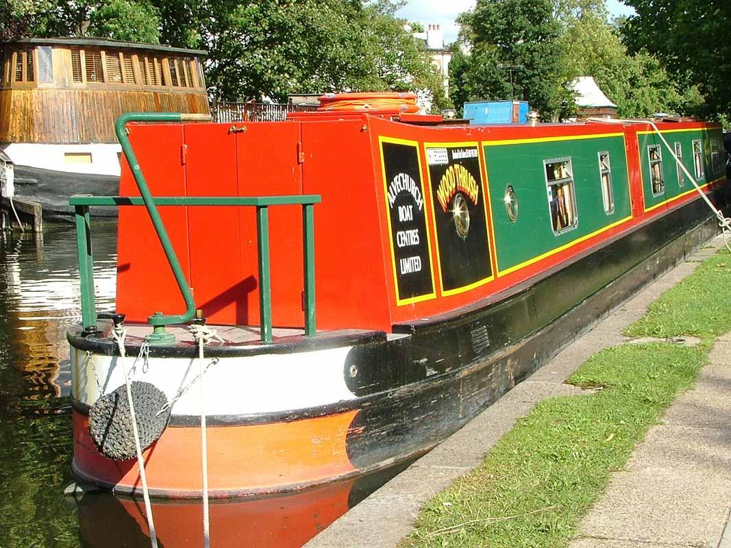 Little Venice Canal boat