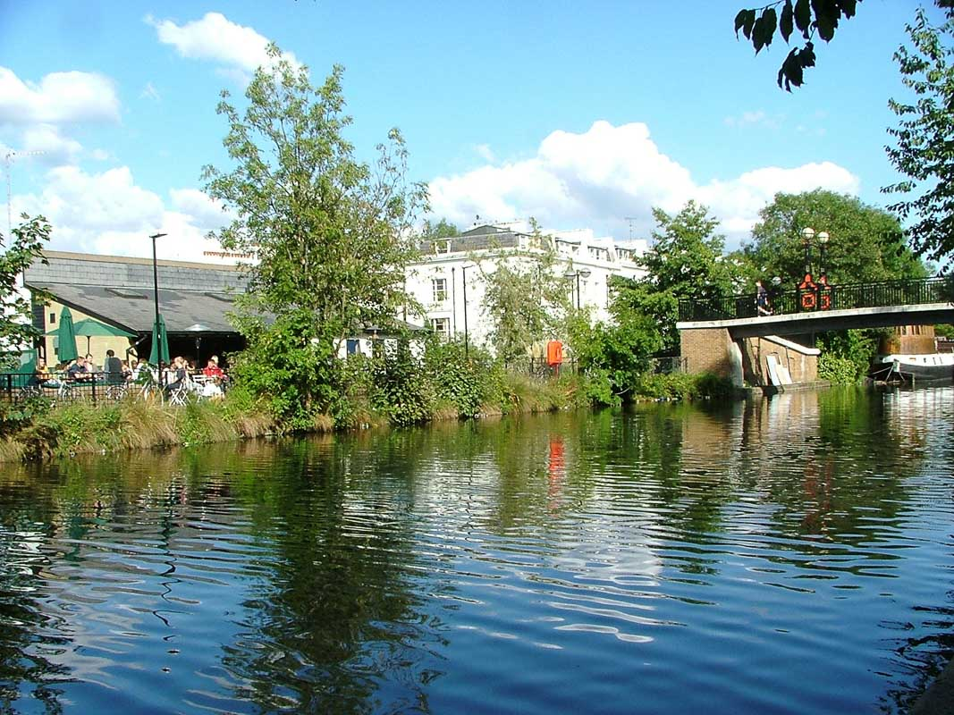 Little Venice the waterway canal london