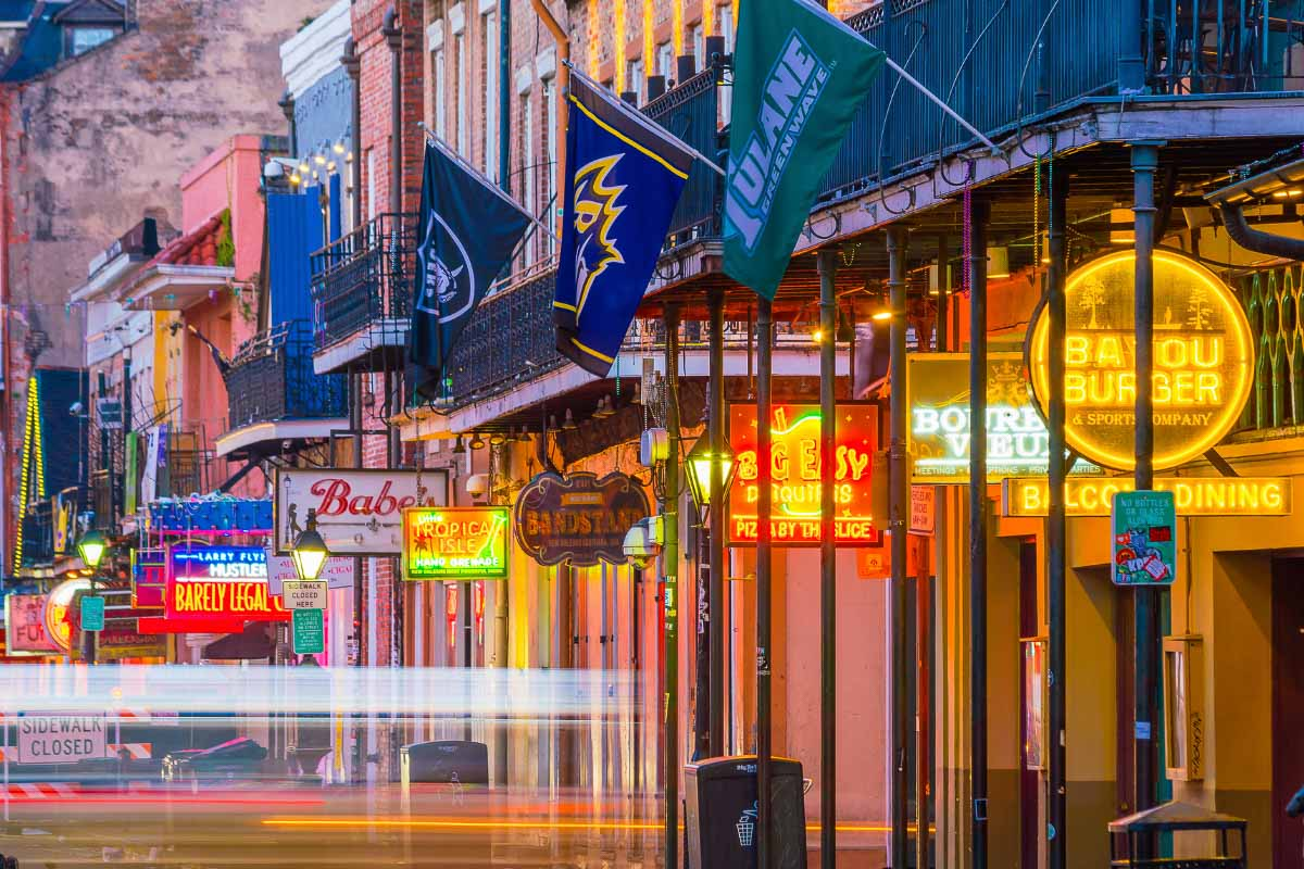 New Orleans French Quarter