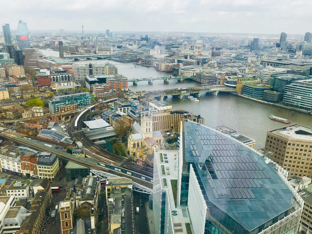 Shangri La London View