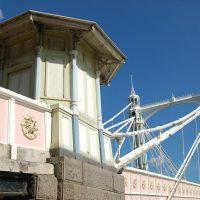 albert bridge in london