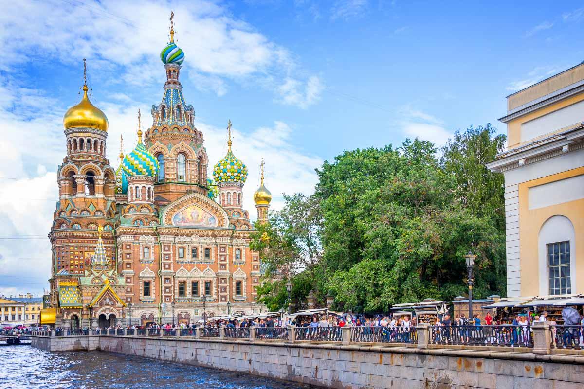 church in st petersburg russia
