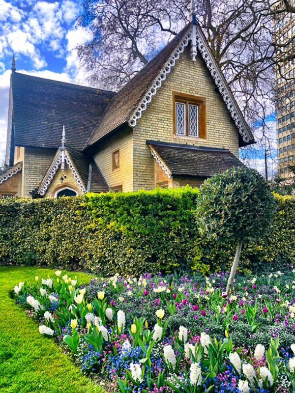 cute house in hyde park london