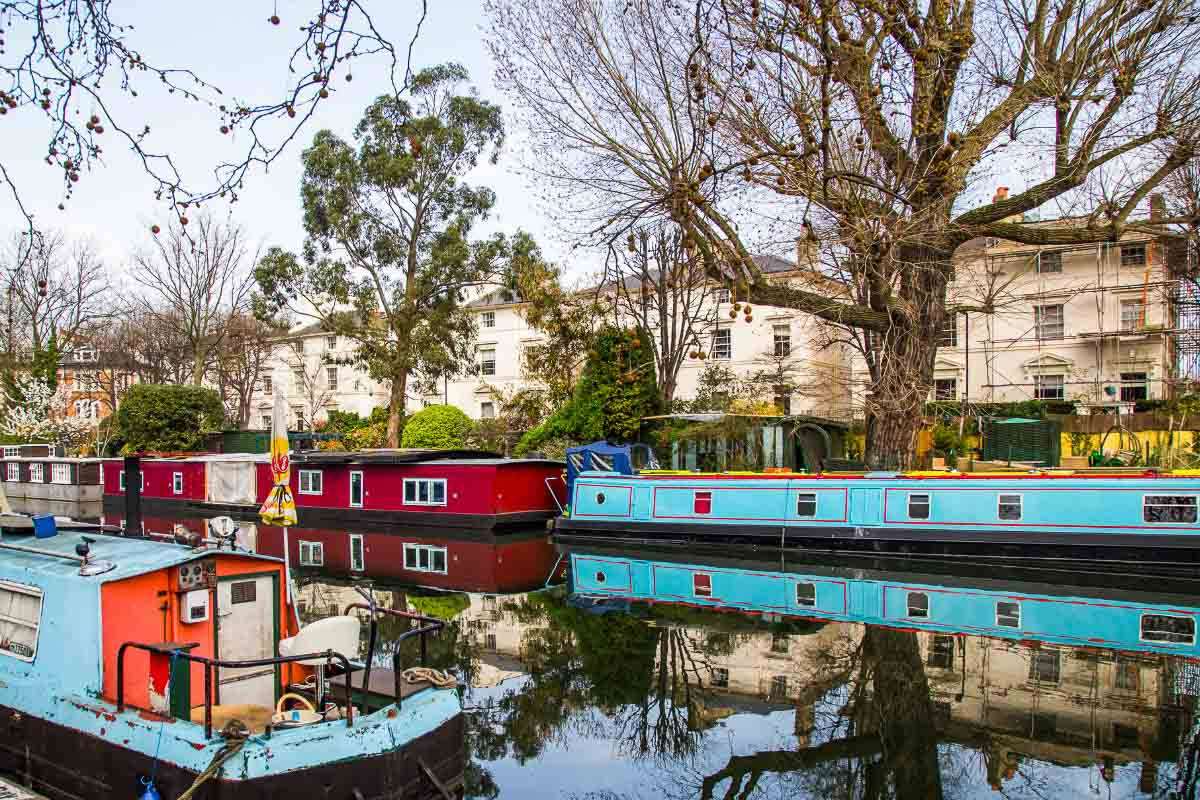 houseboats on the canal in little venice facts about london
