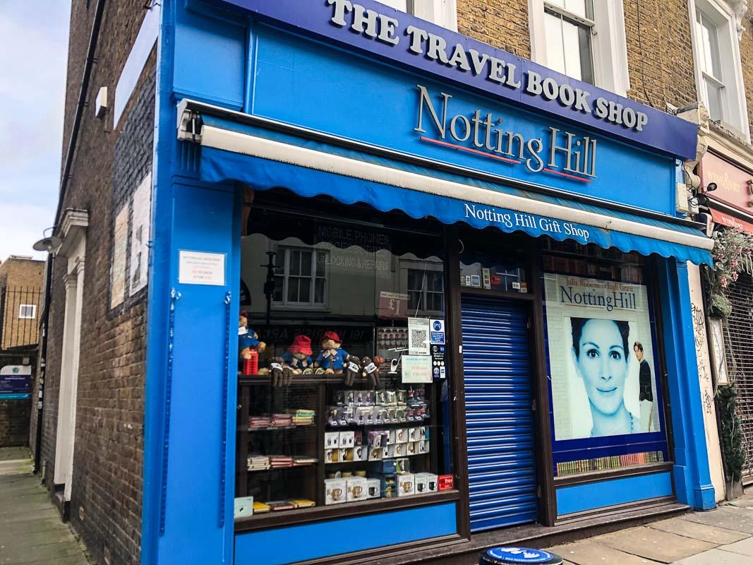 notting hill london bookshop