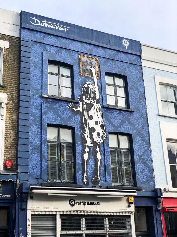 notting hill street art mural