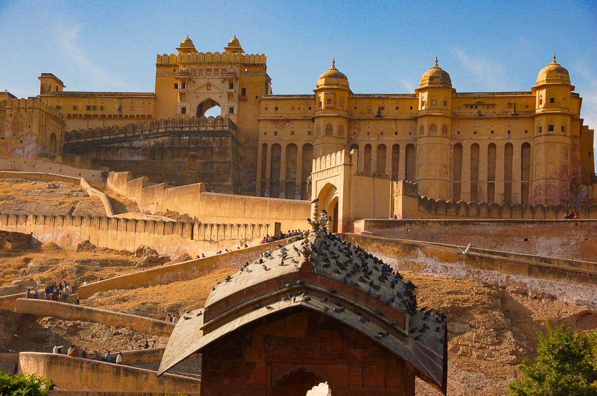 the Amber fort india