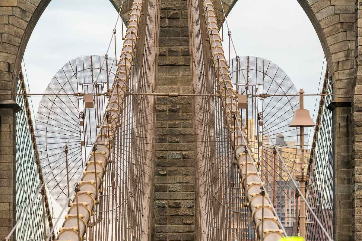 Brooklyn Bridge up close